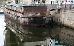 Sjöbod av kanalen Royaltyfria Foton