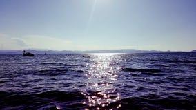 sjöflodvatten Fotografering för Bildbyråer