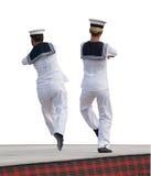 sjöman för hornpipe s Arkivbilder