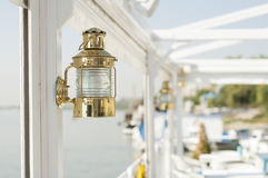 Sjöman Lamp Royaltyfri Fotografi