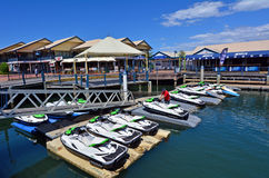 Sjömanliten vik Gold Coast Queensland Australien Royaltyfri Fotografi