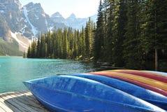 Sjömorän, Alberta, Kanada Royaltyfri Bild