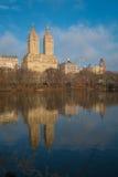 Sjön, Central Park, NYC Royaltyfria Foton