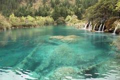 Sjön i berg Royaltyfria Foton
