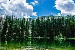 Sjön i Durmitor parkerar Arkivbild
