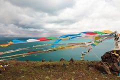Sjön i Tibet Royaltyfria Foton