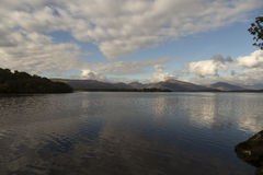 Sjön Loch Lomond Royaltyfri Bild