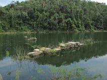 Sjön och fördärvar Royaltyfria Foton