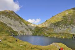 Sjön och sadeln Royaltyfri Fotografi
