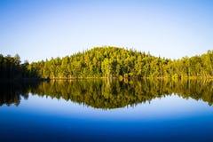 Sjön på Solovkien Fotografering för Bildbyråer