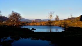 Sjön vaggar in Royaltyfria Foton