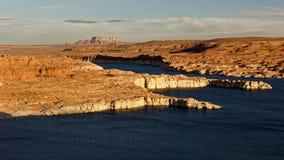 SjöPowell kuster, Arizona arkivbild