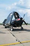 Sjörövare för flygplan F4U Royaltyfri Fotografi