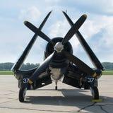 Sjörövare för flygplan F4U Royaltyfria Bilder