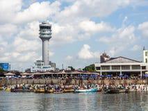 Sjösida av Dar es Salaam, Tanzania Royaltyfria Foton