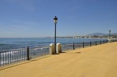 Sjösida av Marbella Royaltyfria Bilder