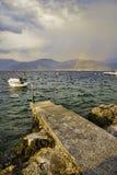 Sjösida av Montenegro, Adriatic hav Fotografering för Bildbyråer