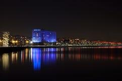 Sjösida av Thessaloniki, Grekland royaltyfri fotografi