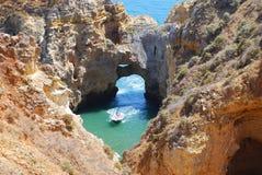 sjösida för 9 portugal Arkivfoto