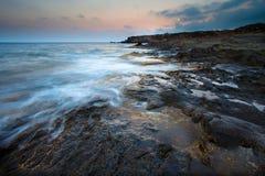 sjösida för pantelleria s Arkivfoto