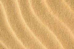 Sjösida för vågor för Backgound gulingsand Fotografering för Bildbyråer