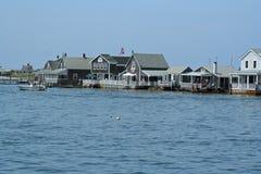 Sjösida i Cape Cod Arkivfoton