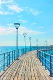 Sjösida i Limassol royaltyfria bilder