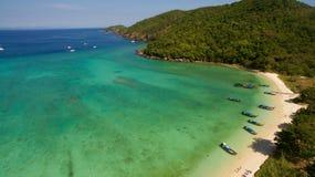 sjösida i Thailand Royaltyfria Bilder