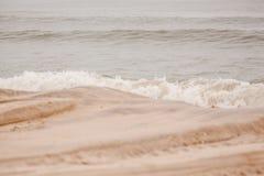 Sjösidahöjdvågor Fotografering för Bildbyråer