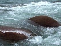 Sjösidalandskap Arkivfoton