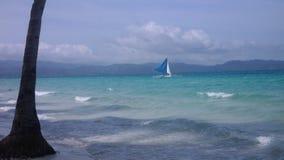 Sjösidan av Boracay Arkivfoton