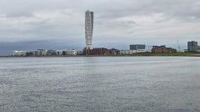 Sjösidasikt över den roterande torson Fotografering för Bildbyråer