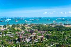 Sjösidastad av thailändskt Royaltyfria Foton