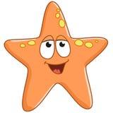 Sjöstjärnan är glad Arkivfoton