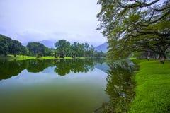 Sjöträdgård, Taiping Royaltyfri Fotografi