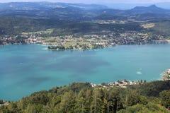 Sjövärde, i Österrike Arkivbilder