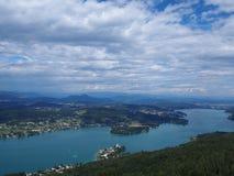 Sjövärde i Österrike Arkivbilder