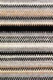 Sjaal die over witte achtergrond wordt geïsoleerdt Stock Afbeelding