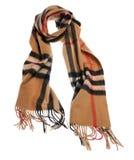 Sjaal op witte achtergrond Royalty-vrije Stock Foto