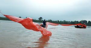 Sjaal voor Godinrivier stock foto