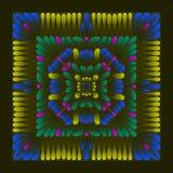 Sjaalpatroon vector illustratie