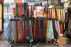 Sjaals en sjaals Stock Afbeelding