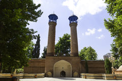 Sjah Abbas Mosque in Gyandzha Royalty-vrije Stock Foto's
