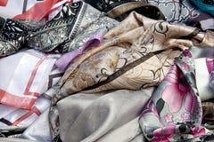 Sjalar och scarfs Royaltyfria Bilder