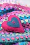 Sjaskig chic valentin royaltyfria bilder