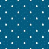 Sjaskig jul Pattern-02 vektor illustrationer