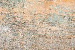 Sjaskig murbrukvägg arkivfoton