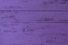 Sjaskig violett träyttersida för kupatextur för bakgrund brunt trä Färgtre Fotografering för Bildbyråer