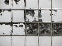 Sjaskiga chic tegelplattor för Glass fönster Royaltyfria Bilder