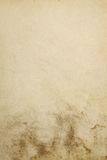 Sjaskigt gammalt papper med den smutsiga lägre delen Royaltyfria Foton